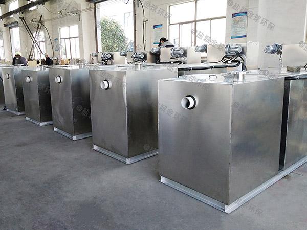 工地大型室外智能油污水分离器价位
