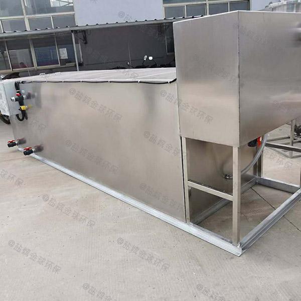 后厨地埋式大油水分离处理机器检测报告
