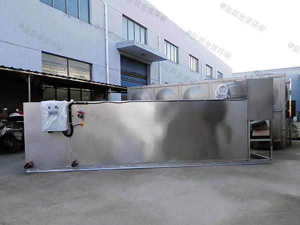 餐厅户外大型无动力油脂分离装置多少钱