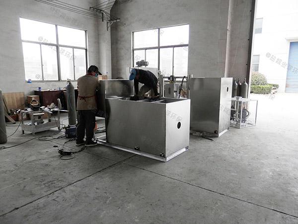 商场地面式自动排水隔油过滤设备怎样使用