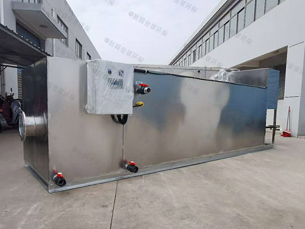厨下型中小型地下室简单气浮油水分离器的位置