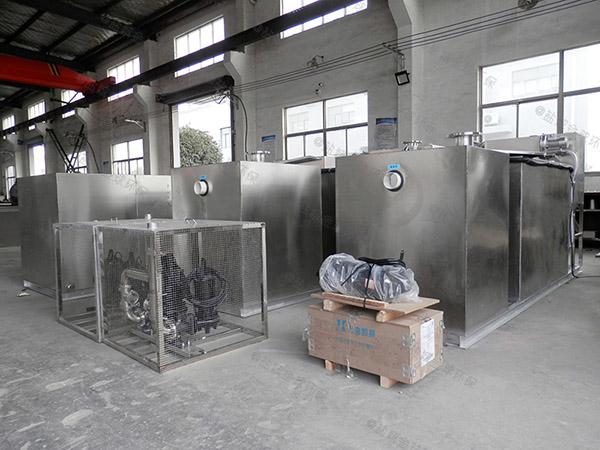 饭馆中小型地下式自动污水处理油水分离设备标准