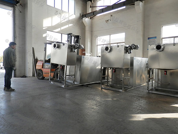 食堂地上组合式下水道油水分离器安装位置
