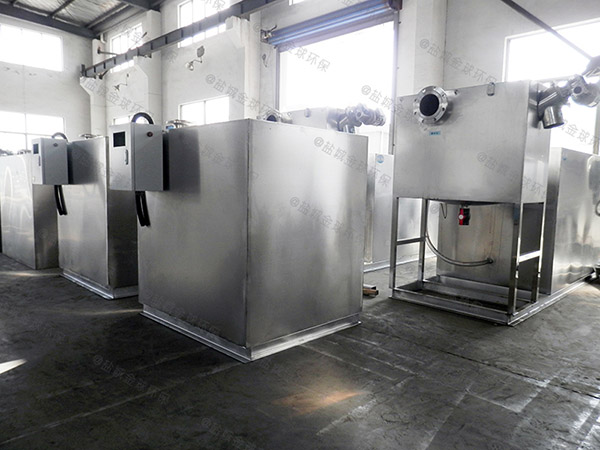 单位食堂大全自动隔油处理设备使用说明