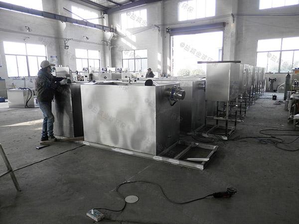 餐厅厨房大型地下式移动式隔油池自动刮油尺寸