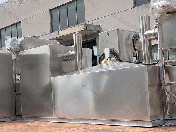 厨房用地埋式移动式隔油净化设备报告