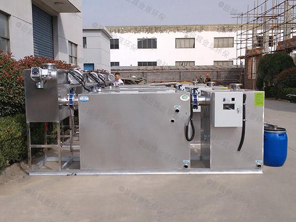 商场餐饮埋地式大型全自动智能型下水隔油设备安装步骤