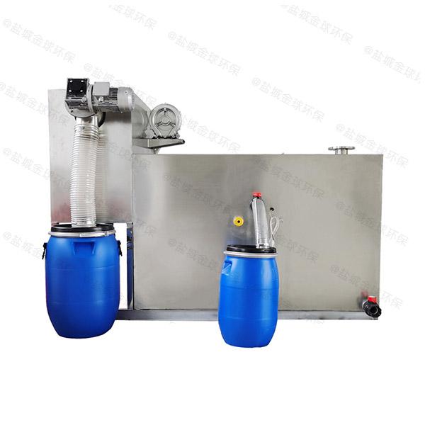 餐厨室外全自动智能型隔油分离器工厂