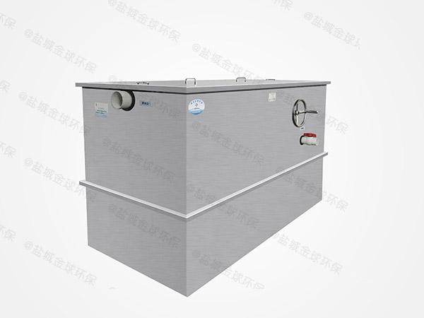 厨房用地上式中小型简易成品隔油器价格型号
