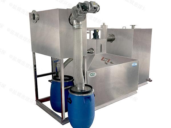 商业中小型地埋式简单三级油水分离器价格图片
