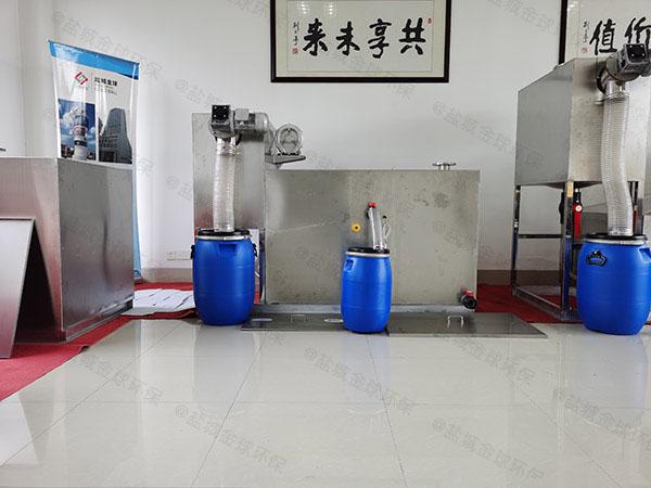 家用地下自动排水油水分离隔油器怎么使用