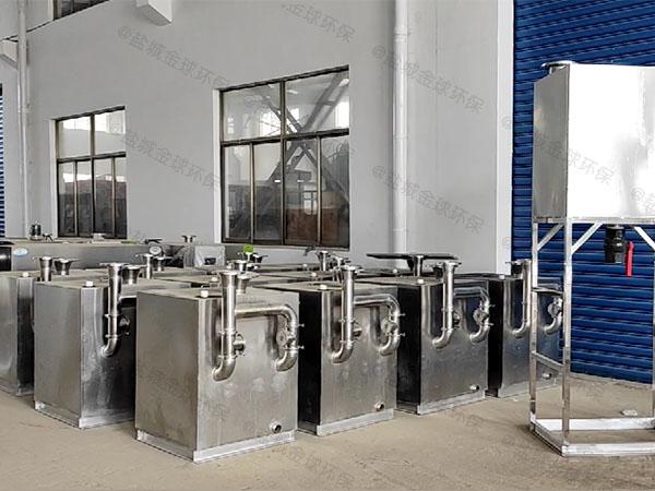 餐馆中小型地面移动式油水过滤分离器改造厂家