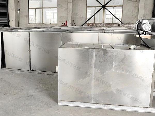 餐厅厨房中小型地下式智能排水隔油设备的种类