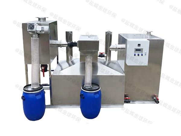 后厨大自动排水油水分离处理设备做什么的