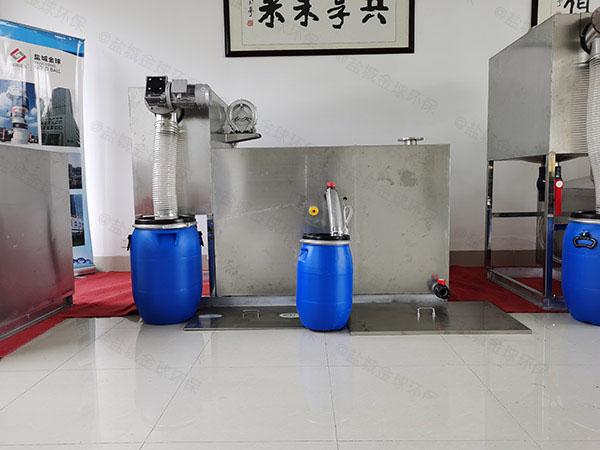 商城室内大自动排水污水隔油设备的效率