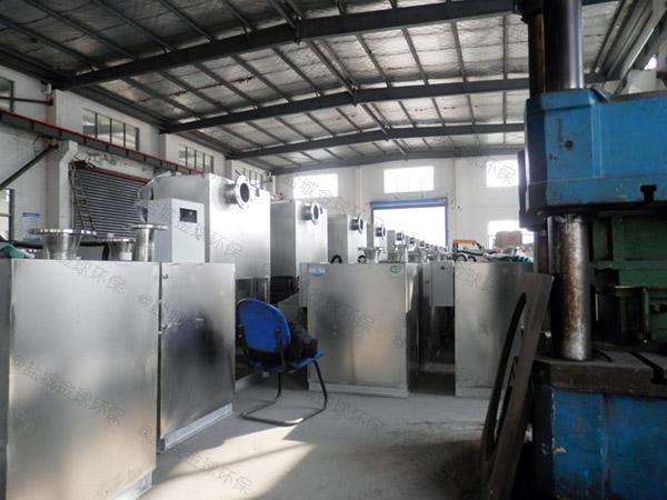 生活埋地式自动除渣隔油一体化提升装置要求
