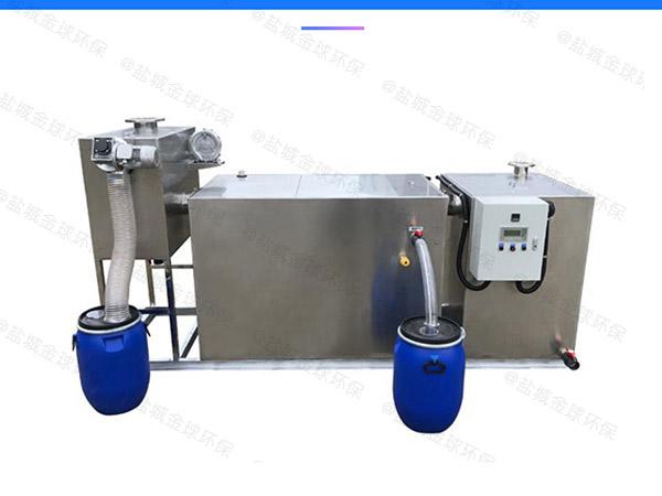 学校地埋式自动刮油三格式隔油池检测报告