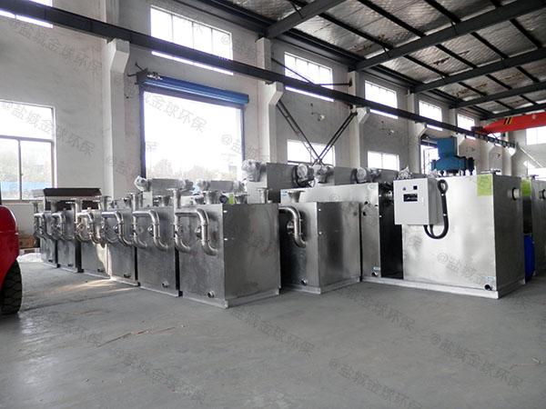 商场餐饮地上式大自动排水水油分离处理设备制造厂家
