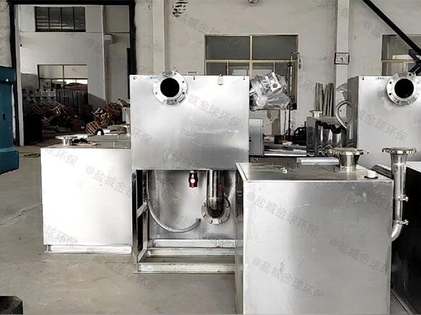 餐厨地埋移动气浮式自动隔油器标准