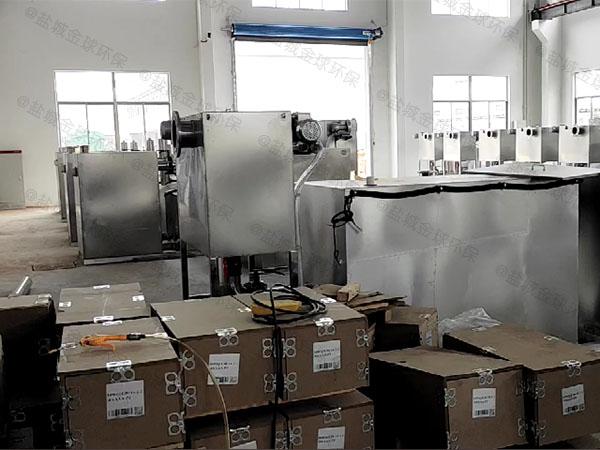 厨房地上式自动提升气浮隔油设备专利