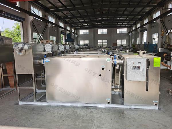 小区地埋移动式污水油水分离设备设计方案