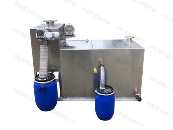 居家用埋地分体式隔油提升一体化需要泵吗