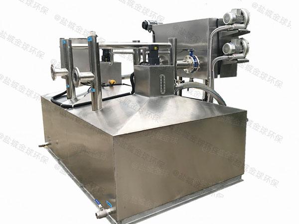 中餐地下式分体式密闭隔油器的做法