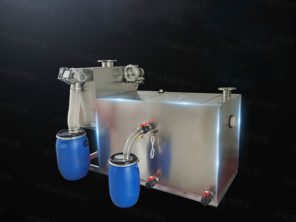 餐用中小型埋地简易成品油水分离器技术参数厂家