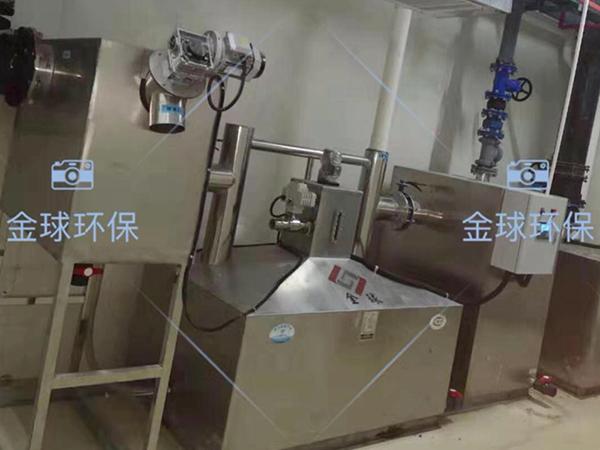 厨房地下组合式三级油水分离器起什么作用