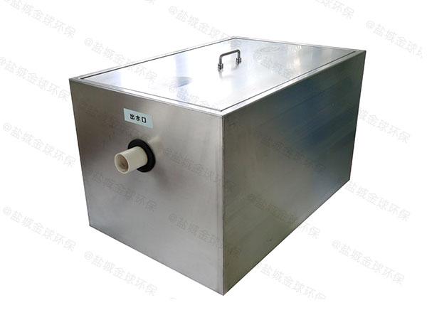饮食业室内中小型移动式一体式隔油设备属于粗滤吗