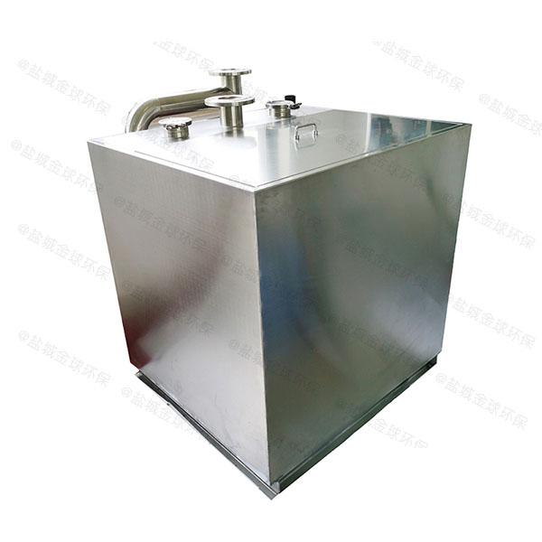饭堂中小型室内智能油水分离净化器品牌排行
