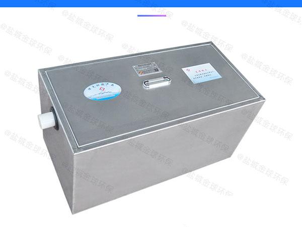 小区中小型地埋式自动化一体式隔油提升设备安装