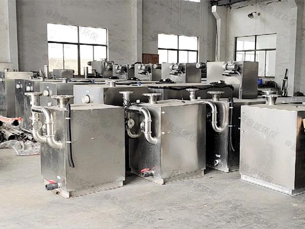 工厂食堂大地下式移动式下水道油水分离器属于什么类别