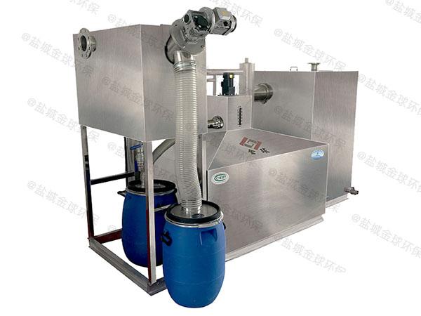 商业地面式全自动智能型一体化油水分离提升设备规格
