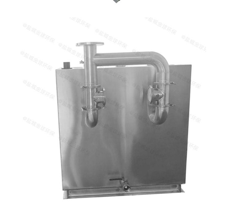 厨下型地面式无动力气浮隔油器厂家