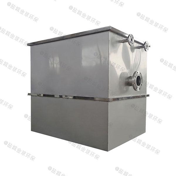 厨房地埋式分体式隔油提升装置技术参数