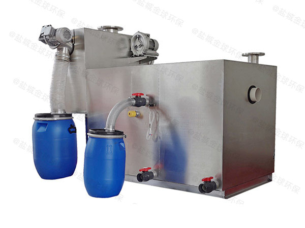 食堂用大简易隔油排污设备是干嘛用的