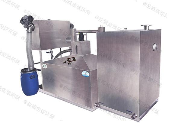 厨房地上式全自动智能型污水油水分离设备市场分析