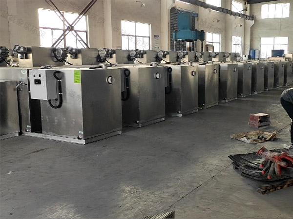 工厂食堂地下室中小型多功能除渣隔油一体机技术要求