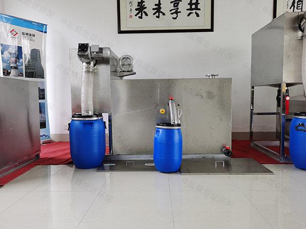 火锅店中小型智能化强排油水分离器的作用