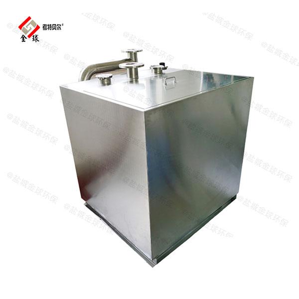 饭馆中小型地上移动油水分离净化器操作规程