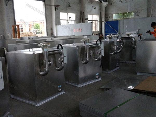 商城中小型地上自动刮油污水隔油提升设备报告