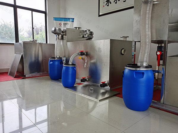 厨下型大地面式智能气浮式隔油设备如果安装