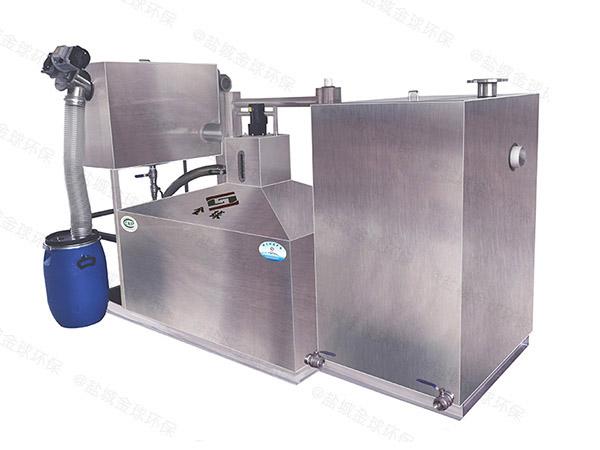 餐饮行业地埋式机械隔油分离器的设置