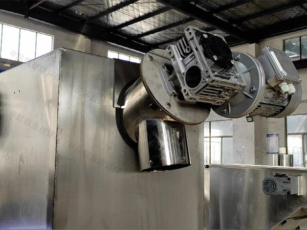 后厨中小型地下式组合式油水分离器设备工厂