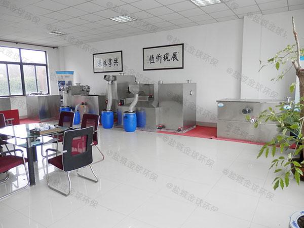 工厂食堂大分体式提升隔油一体化设备技术参数厂家