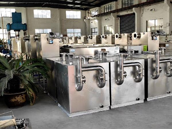 火锅专用大型地上智能化隔油除油设备生产厂家