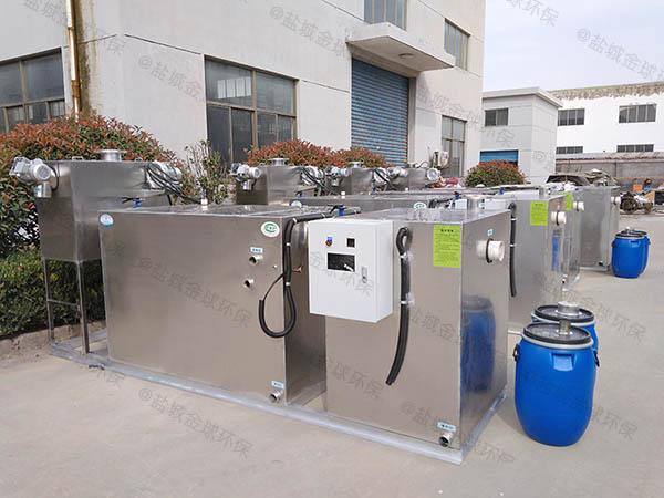 单位食堂地面式大型分体式一体化隔油污水提升设备生产商