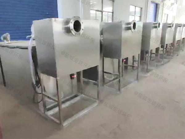 火锅大地上机械油水分离处理机器组成