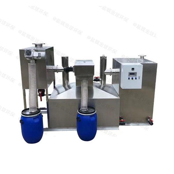 综合体室外大型油污水分离器的作法